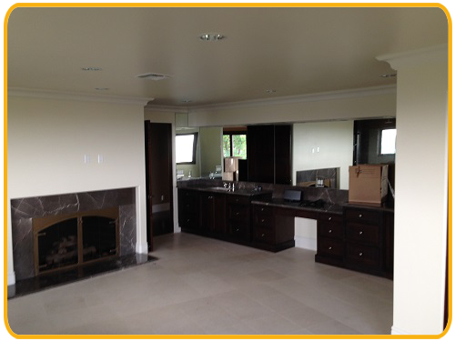 Interior painting by CertaPro house painters in Encino, CA