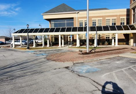 Commercial Exterior Painting Project Akron, OH