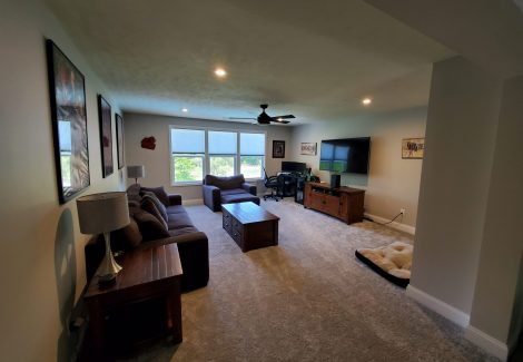 Residential Interior Painting Project Akron, OH