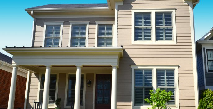 Exterior house painting by CertaPro painters in Alexandria, VA