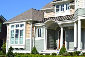Exterior house painting by CertaPro house painters in Springfield, VA