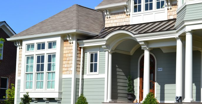 Exterior painting by CertaPro house painters in Alexandria, VA