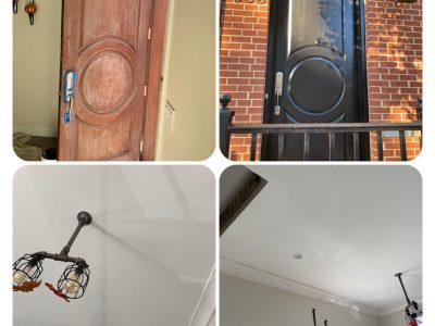 Handyman before and after pic
