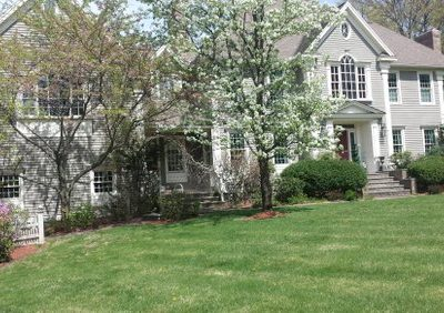 Exterior house painting by CertaPro painters in Andover, MA