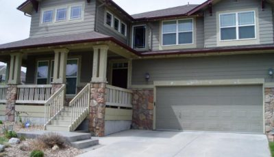 Exterior house painting by CertaPro painters in Lakewood, CO