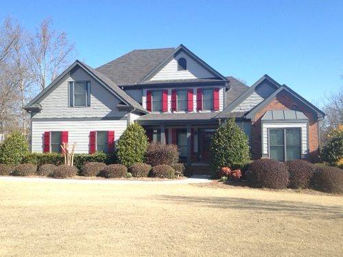 Exterior house painting by CertaPro painters in Jackson County