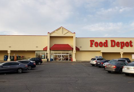 Food Depot Exterior Painting Project