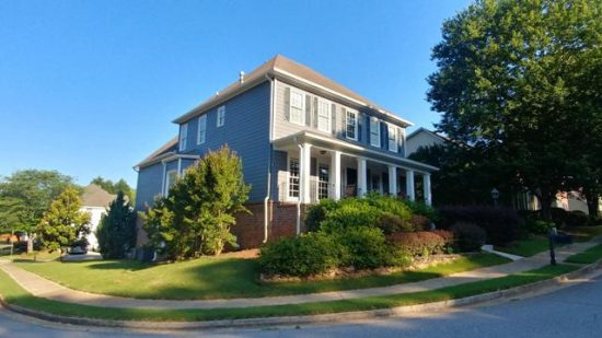 exterior painting project in Ormewood, ga
