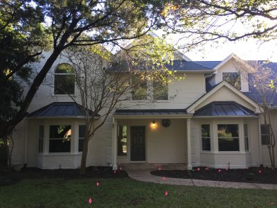 Exterior house painting by CertaPro painters in Austin, TX