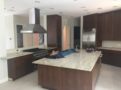 Interior kitchen painting by CertaPro house painters in Austin, TX