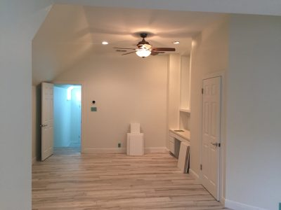 Interior master bedroom painting by CertaPro house painters in Austin, TX