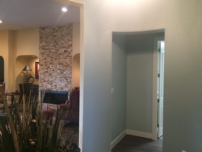 Interior house painting by CertaPro house painters in Austin, TX