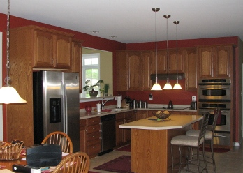 Interior painting by CertaPro house painters in Fallston, MD