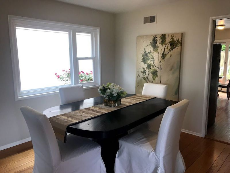 Interior dining room painting by CertaPro Painters in Oakland, CA