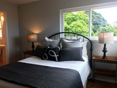 Master bedroom painting by CertaPro house painters in Oakland, CA
