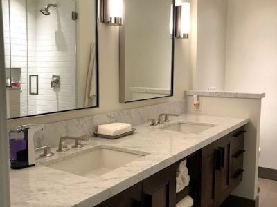 Interior bathroom painting by CertaPro house painters in Oakland, CA