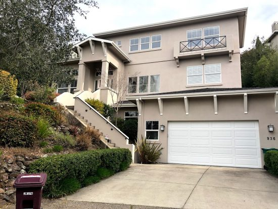 Exterior house painting by CertaPro painters in Berkeley Hills, CA