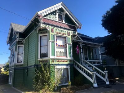 Exterior painting by CertaPro house painters in Alameda