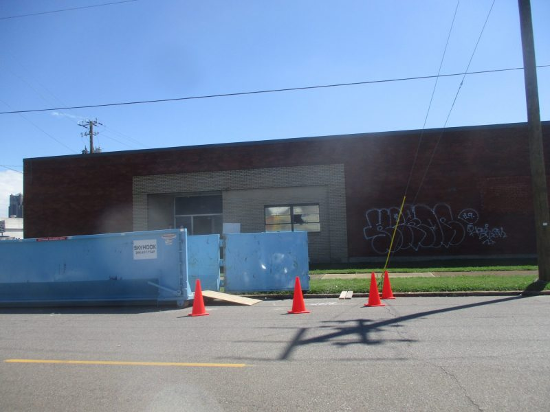 Commercial Building Front Exterior Painting Before