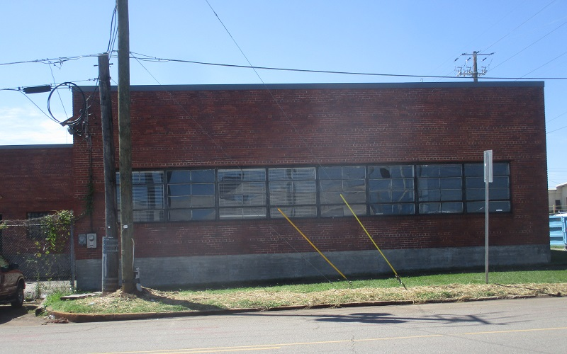 Commercial Building Side Exterior Painting Before
