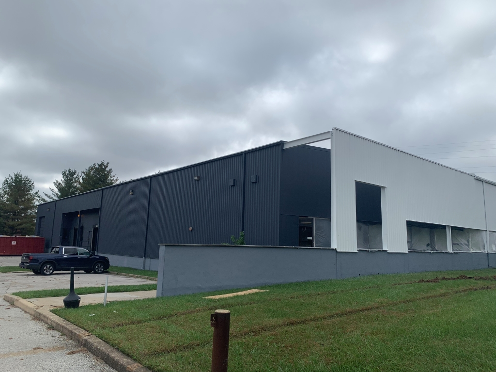 Commercial Warehouse Exterior Painting