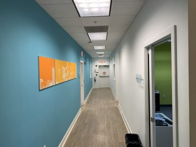 Commercial Office Hallway Painting
