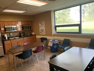Commercial Office Space- Break Room- Interior Painting