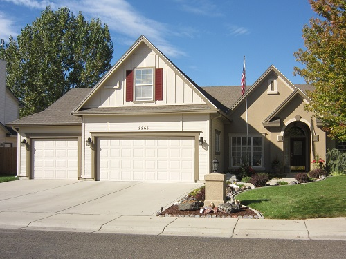 Exterior painting by CertaPro house painters in Boise, ID