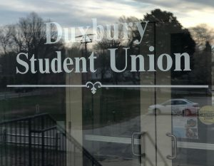 student union duxbury ma glass window