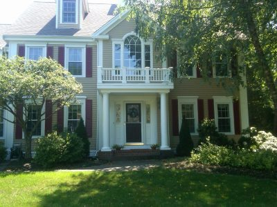 Exterior painting by CertaPro house painters in Pembroke, MA