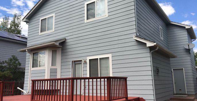 Exterior painting by CertaPro house painters in Superior, CO