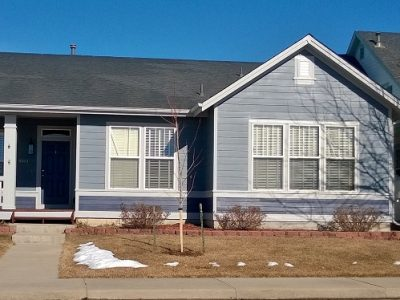 Exterior house painting by CertaPro painters in Longmont, CO