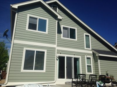 Exterior painting by CertaPro house painters in Lafayette, CO