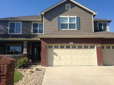 Exterior painting by CertaPro house painters in Longmont, CO