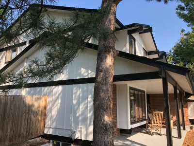 Exterior house painting by CertaPro Painters in Boulder Longmont, CO