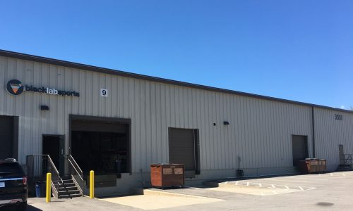 Industrial Warehouse Exterior - Before Photo