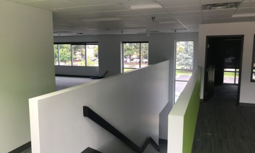 Interior Office Painting Service - Staircase