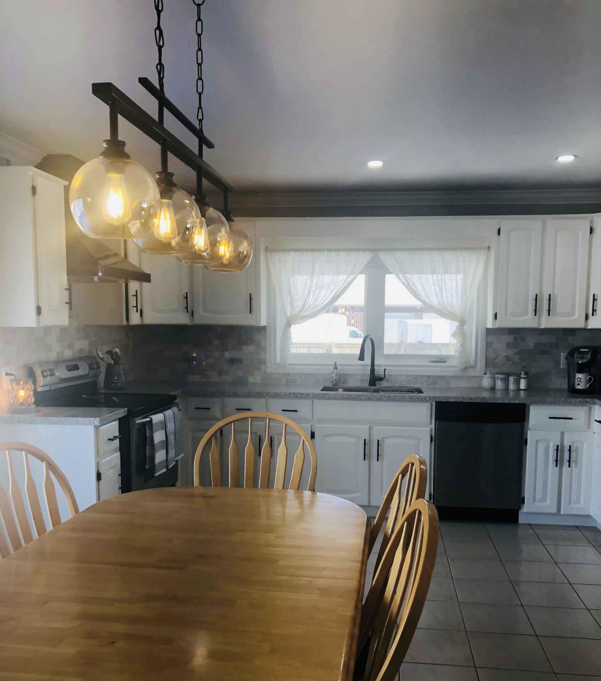 Kitchen Cabinets Before & After After