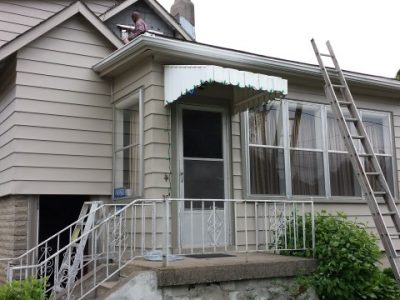 Exterior painting by CertaPro house painters in Mississauga, ON