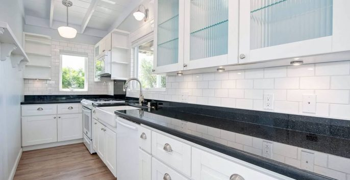 Kitchen painting by CertaPro Painters in Crest, CA