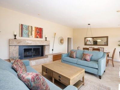 Interior family room painting by CertaPro Painters in Crest, CA