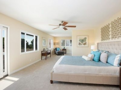 Master Bedroom painting by CertaPro Painters in Crest, CA