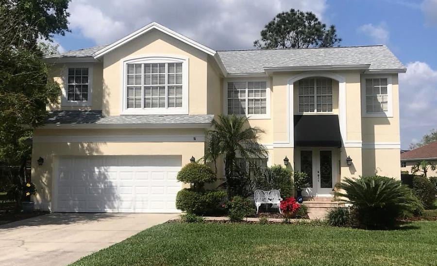 Tampa 2 story home exterior repaint
