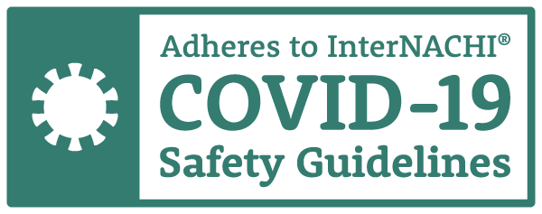 InterNACHI COVID-19 Safety Guidelines Badge