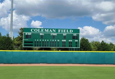 USA Baseball National Training Complex Scoreboard Painted