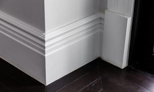 Baseboard painting