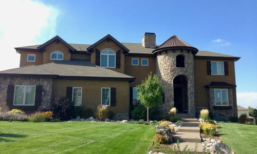 Neutral Stucco Painting