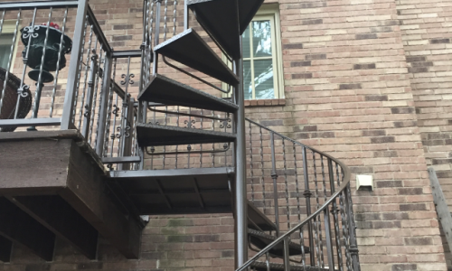 Exterior Stair Painting Project