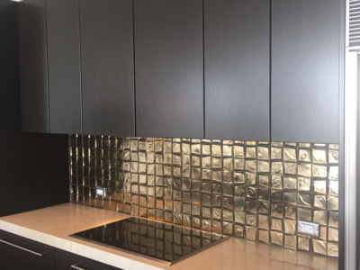 Interior Kitchen Cabinet Painting by CertaPro painters in Dallas, TX