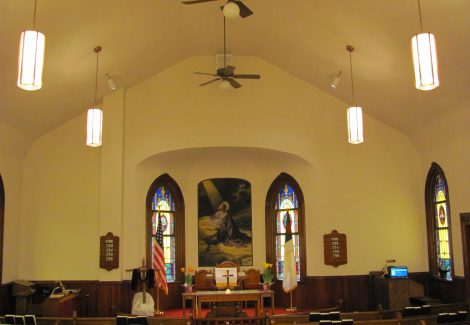 Hosensack Evangelical Church Interior